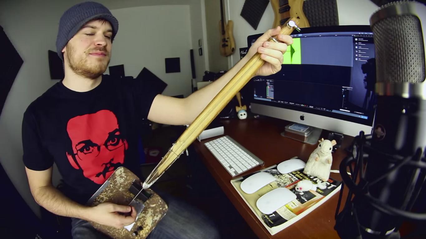 guitare a la pelle