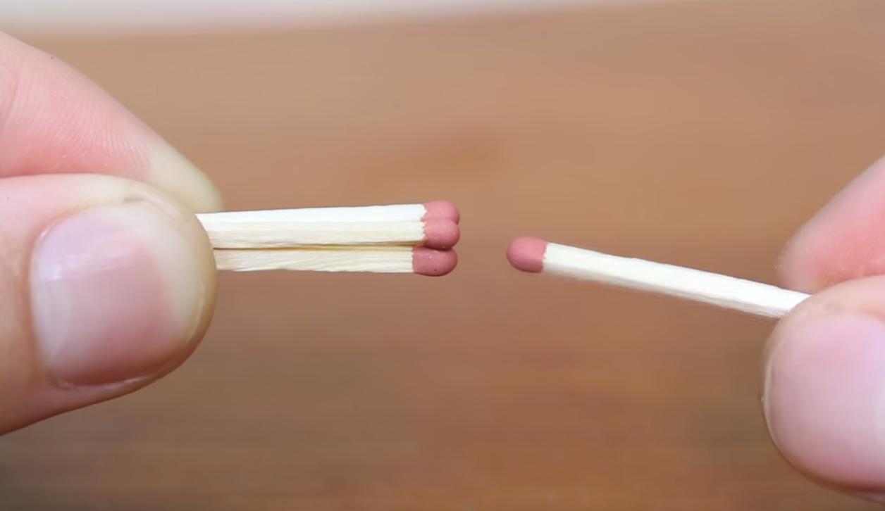 Voil comment allumer une allumette avec une autre - Comment allumer une chaudiere ...